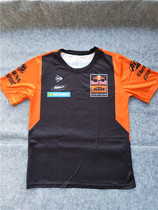 New MotoGP riding suit Motorcycle KTM Knight team quick-dry airtight short-sleeved racing suit T-shirt