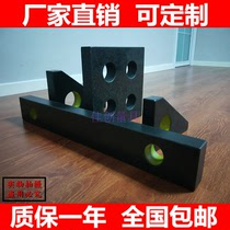 Jinan green marble square ruler 00 high-precision square ruler ruler triangle straight angle parallel gauge