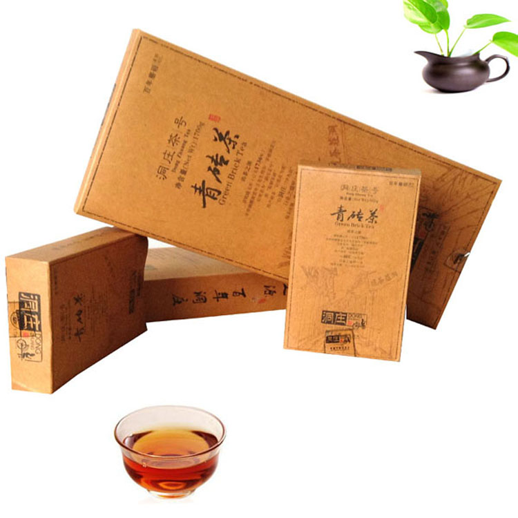 1700g Dongzhuang Tea No. Green Brick Tea Hubei Chibi Zhao Liqiao Traditional Craft Hubei Black Tea