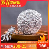 Инь Yitai 999 чистый серебряный чай пузырь чай фильтр творческого бога чая фильтр чай сепаратор чай мяч утечки