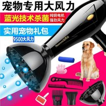 Hair dryer high power small air out of the mouth does not hurt the hair pet comb hair blowing mechanical and electrical blowing in large animals