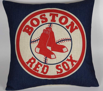Foreign trade team Boston Red Sox fans pillow Boston Red Sox pillowcase