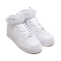 Flagship store official website genuine Air Force One menS shoes AF1 pure white wheat Cherry Powder high-top womens shoes flash