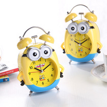 Alarm clock student with children special school students multi-function cute cartoon bedroom mute male female creative Electronics