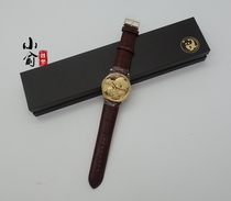 Shanghai Gold Coin Investment Company 2019 Panda gold plated watch Panda watch Quartz watch Panda watch