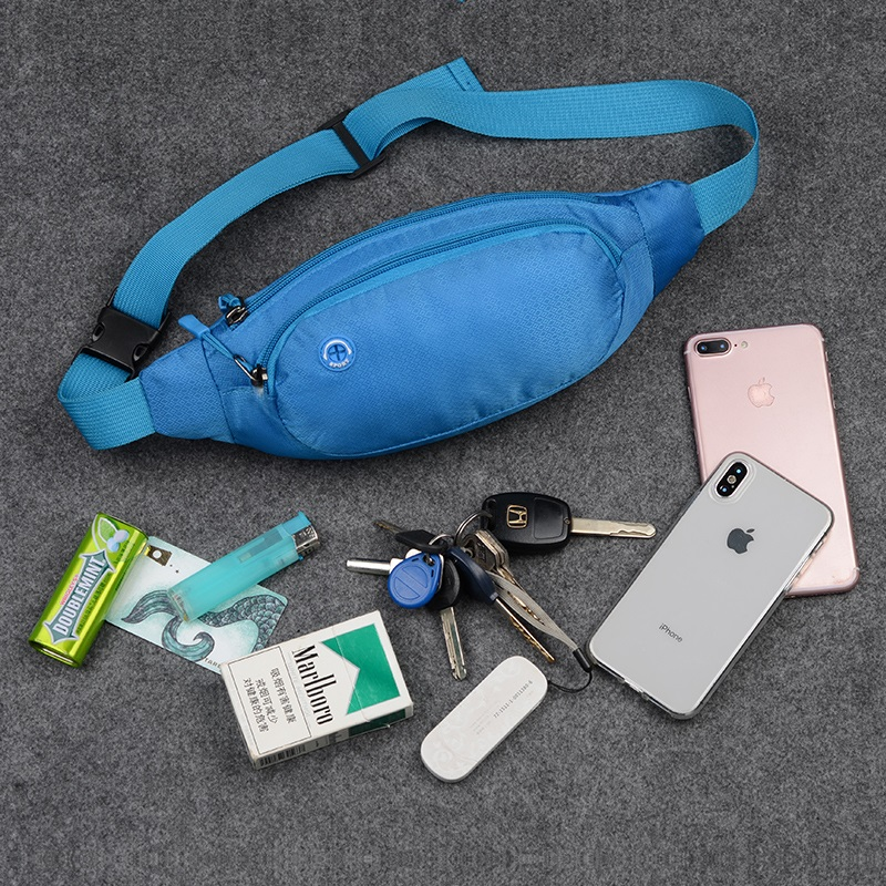 Wear-resistant sports waistband multi-functional mobile phone bag for men and women small fitness running equipment large capacity portable waterproof