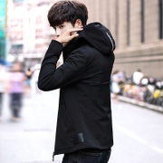 The new trend of Korean men's coats 2017 autumn autumn spring and autumn leisure slim handsome thin jacket men