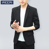 Business Casual Korean version of slim youth student thin paragraph small suit