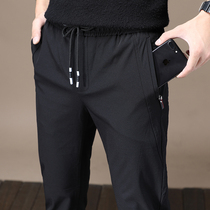Autumn and Winter new winter decoration Korean version of the foot casual pants