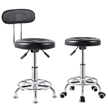 Bar chair lab small round stool barber small turn chair beauty shop hairdry chair can rotate up and down