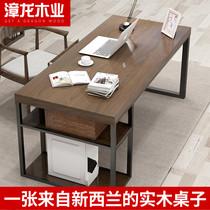 Компьютерный стол из массивной древесины простой современный компьютерный стол стол интернет-кафе стол киберспорт одноместный рабочий стол и стулья комбинация