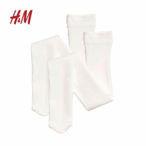 H&M childrens clothing new 2-piece tights HM0293433
