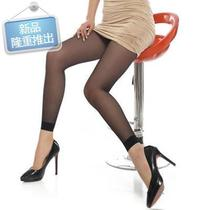 Summer nine points stockings Summer Slim anti-hook 9k points black meat color without even feet long tube pantyhose