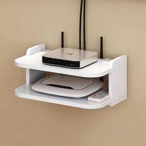 On-board box home TV punch-free rack fiber optic broadband WiFi wireless router receiver storage box