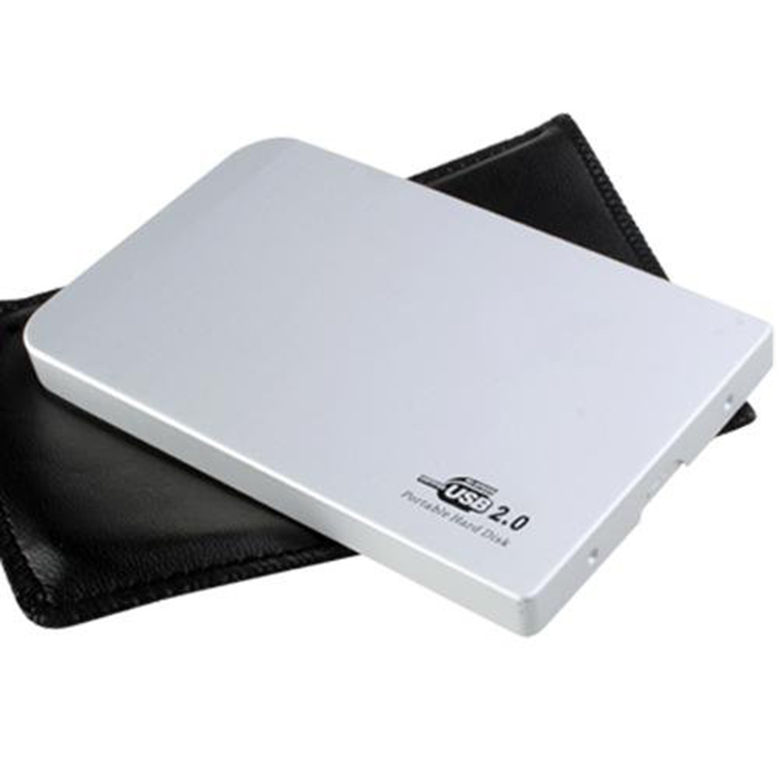 [The goods stop production and no stock]2.5 hard drive, Silver External Hard Drive Disk Enclosure 2.5 Inch Usb 2.0 I