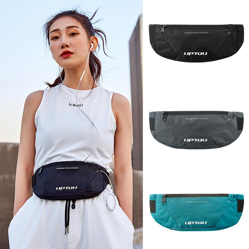 Sports waist bag womens running mobile phone bag invisible fitness belt womens small equipment bag mens ultra-light tide ins fashion