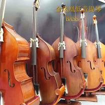 金凤凰低音提琴 大贝司 云杉实木全手工儿童成人演凑考级大提琴