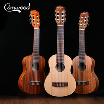 Camwood Purple Import edited guitar inside 28 inch classical guitar beginner child introduction small guitar
