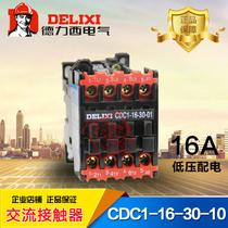Breaker thermal relay AC contactor cDC1-16-30-10 16A CJX8 NC3 CJ46