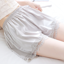 Can be worn outside loose anti-light safety pants womens summer large size fat mm200 pounds without crimping thin section base shorts