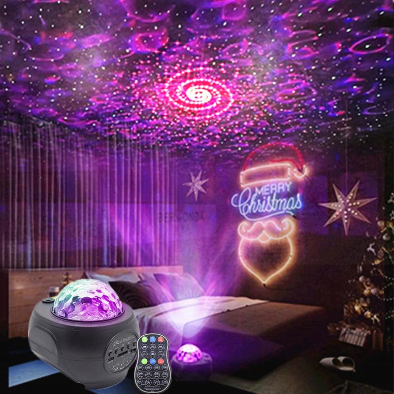 Lumière colorée KTV réseau de bar rouge lumière maison étoilée chambre romantique arrangement décoré lumières atmosphère chambre