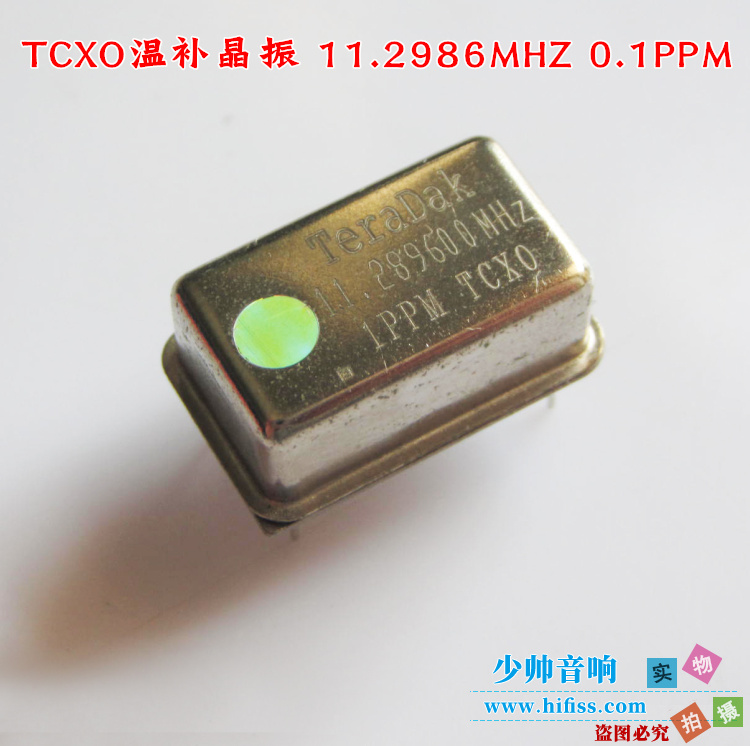 High-precision high-stability Temperature-replenishing TCXO-11.2896MHz at room temperature 1PPM 0.1PPM