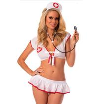 Sexy Nurse Costume Doctor Costumes Cosplay-Ladies Plus Size