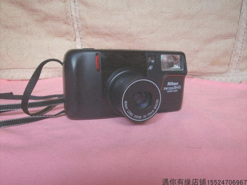 New net good with Nikon TWZOOM35-70 fully automatic camera 135 glue fool items old objects