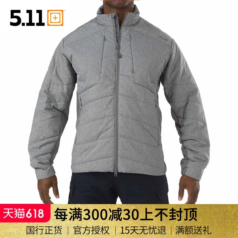 American 5.11 78006 Thermal Cotton Clothes Thermal Insulation P Cotton Tactical Coat Outdoor Men's Light Cotton Jacket