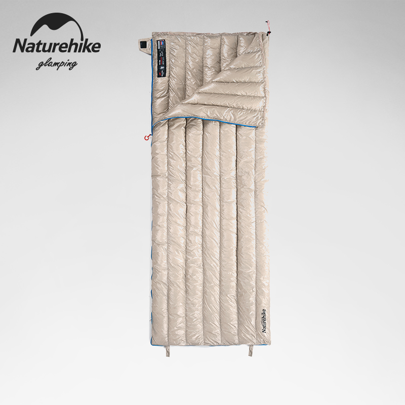 Mover Naturehike down sleeping bag adult outdoor ultra-light camp adult sleeping bag cold winter thickening