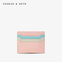 CHARLES & KEITH2020 spring new CK6-50680828-3 Fashion Color Match Your Wallet Card bag female