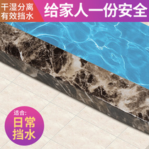 UV process technology surface non-slip solid water barrier bathroom waterproof stone-based shower room type ground water.