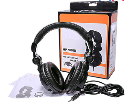 NBISKHP-960B Listening Headset Fully Closed dJ Music hp960B Listening Headset nbiskhp-960B