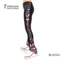 Canadian XPRESSION figure skating training clothes childrens adult high-bounce skating pants sports E055