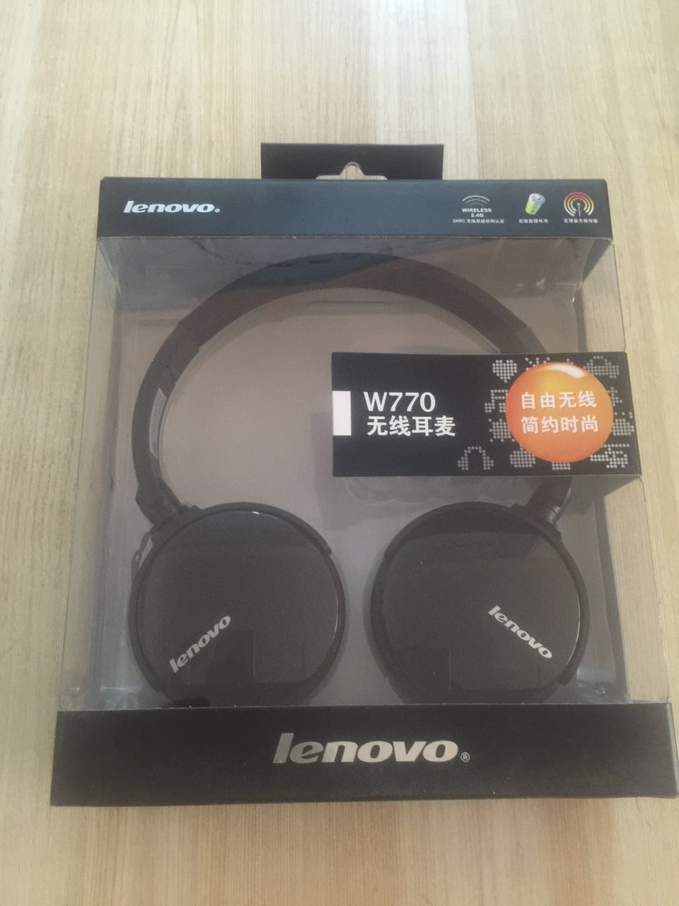 Lenovo/Lenovo W770 Wireless Headset Headset with Microphone Wireless Headset Ice City Direct