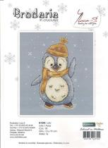 Cross stitch redraw electronic diagram Source file Luca-S B1044 Penguins in the snow-Lulu (M)