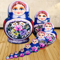Formaldehyde-Free Flavor-Dry Basswood Russian Dolls Genuine 10 Layer 109 6