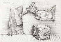 F376(Germany)Hans Bellmer Gallery of surreal abstract paintings