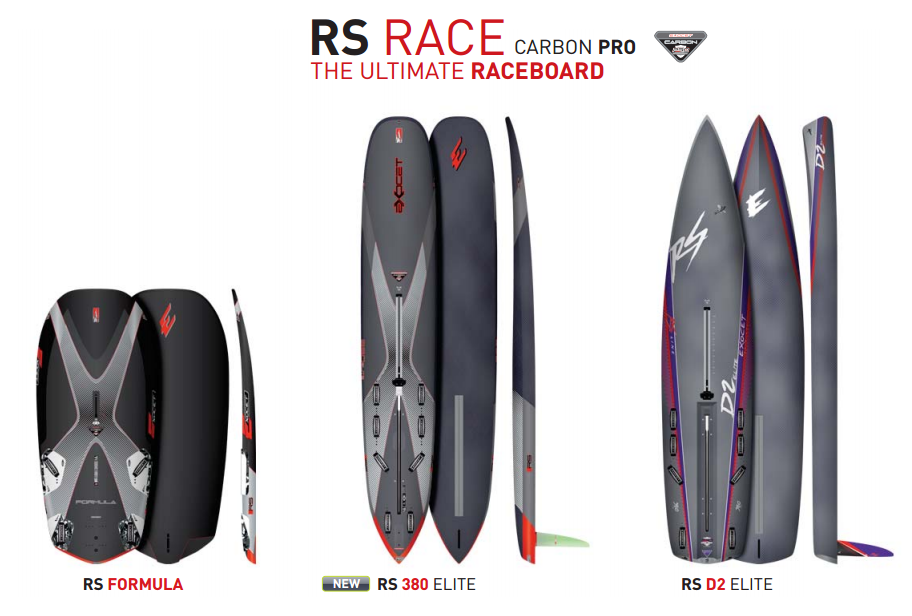 EXOCET-2019 RACE Race Series RS-380 Windsurfing Board
