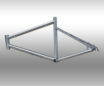 Titanium 451 JAVA small wheel diameter frame with front fork