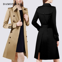 Oumeiyinglun slim slim classic double-breasted womens coat