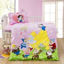 36 piece set quilt cover cotton kindergarten NAP covers baby bedding baby snow men and women Mi Niqi