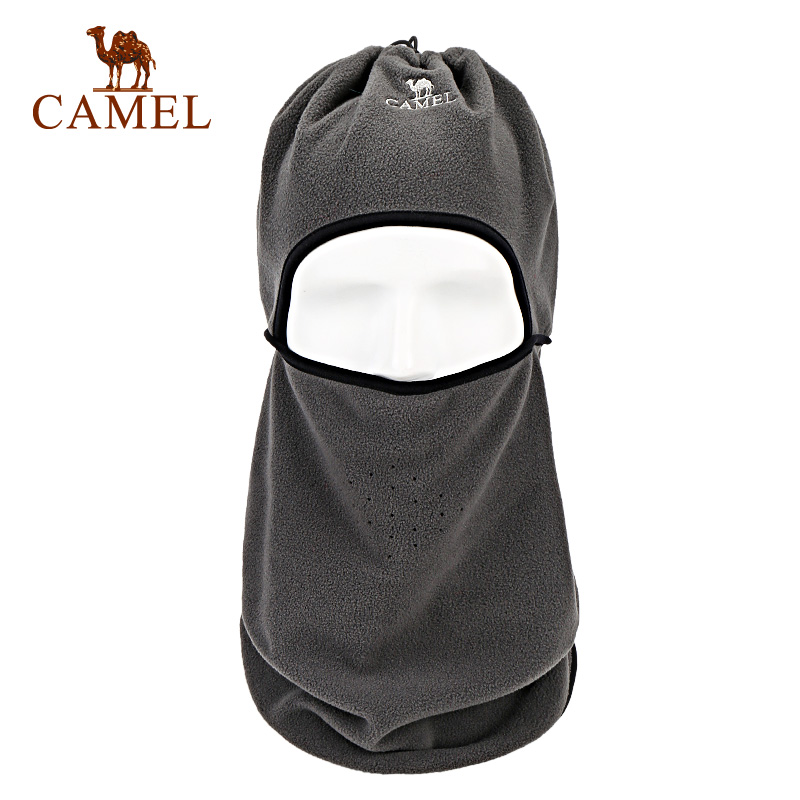 Camel/Camel Outdoor Neck Warm, Wind-proof, Air-permeable, Multi-purpose Cashmere Protective Ear and Sweat Absorbing Neck