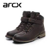 arcx yaacs motorcycle riding shoes waterproof Road Boots anti-drop motorcycle boots Martin boots four seasons riding boots men