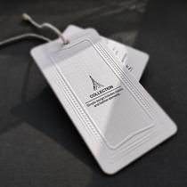 High-end suit tag custom-made spot custom-made European and American models of Lenny custom-made clothing trademark logo bronzing.