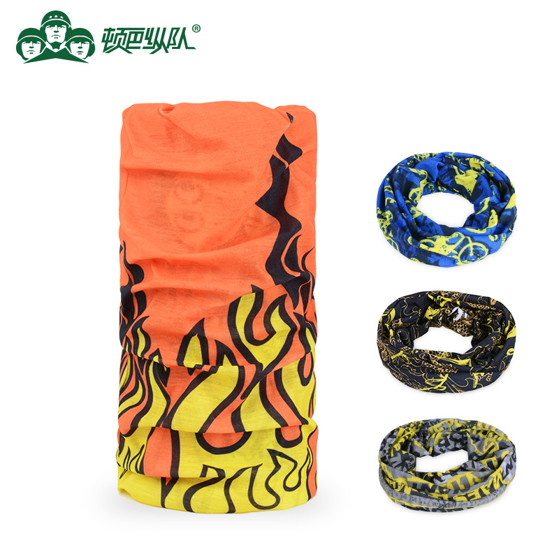 Dunbar Column Outdoor Equipment Sports Headscarf With Magic Headscarf Wrist Riding Headscarf Absorbs Moisture and Sweat