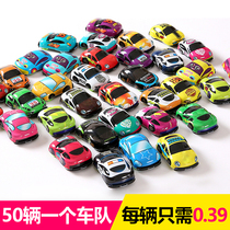 Childrens toy car boy small toy creative personality back car wholesale Model Kindergarten Gifts