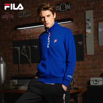 FILA Fila Official Mens Jacket Fall 2020 New Sports Casual Knitted Jacket Top Mens Tide