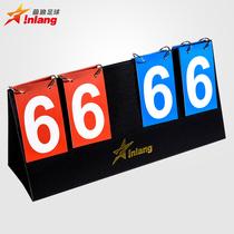 Wave Scoreboard Flip Card two-bit four-bit IN1301 badminton table tennis basketball volleyball Football scoreboard