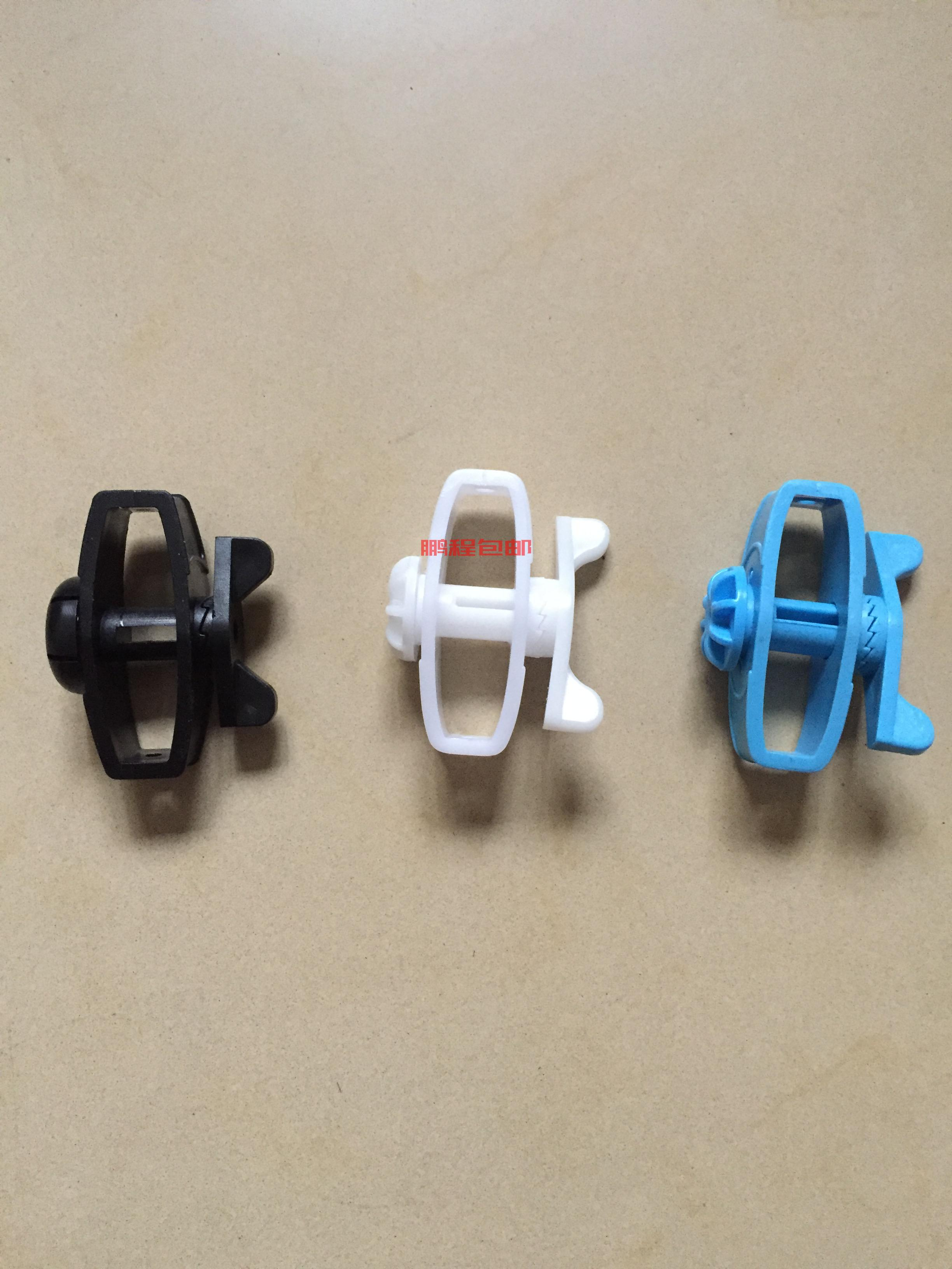 Electronic fence tensioner alloy wire tensioner black blue white High pressure pulse front-end accessories factory spot